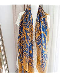 HITSAN INCORPORATION Scarves Soft Silk Floss Scarfs Wrap Shawl Stole Scarve  Pashmina Xmas Gift Shawls Bandana Hijab Foulard… 02516810a4b