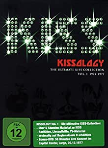Kiss - Kissology Vol. 1: 1974-1977 Capital Center [2 DVDs]