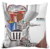 Pillow pillow CUSCINO PERSONALIZZATO 40X40 MAZINGA Z MAZINGER Z - 3 - ROBOT CARTONE ANNI 80 IDEA REGALO