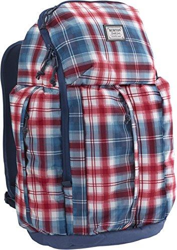 Burton Unisex - Erwachsene Daypacks Cadet, hemlock plaid, 46,5 x 30 x 16,5 cm, 30 liters, 13648101312 (Plaid Laptop-rucksäcke)