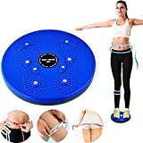 #10: KRITAM FOOT ACCUPRESSURE TWISTER STEPPER RED FOR FITNESS 5 IN 1 Magnetic Disk Hot Sweating Body Shapers Slimming Tummy Twister Rotating Machine (FOOT MASSAGERS) Weight Loss Women & Men WITH fancy bird Table fork set 1