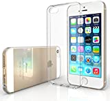 Yousave Accessories iPhone 5S / 5 Case 0.5mm Ultra Slim Crystal Clear Shield [Precision Fit] TPU Gel Cover