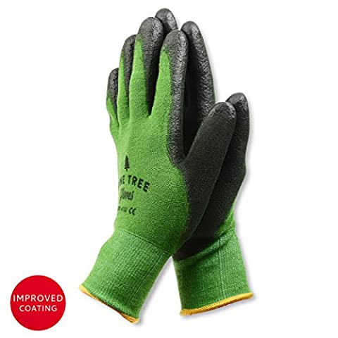 Pine Tree Tools Bamboo Working Gloves for Women and Men. Ultimate Barehand Sensitivity Work Glove for Gardening, Fishing, Clamming, Restoration Work - S,M,L,XL (1 Pack) (Large)