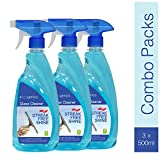 Ecogenics Glass and Surface Cleaner with Shine Boosters Spray - Pack of 3