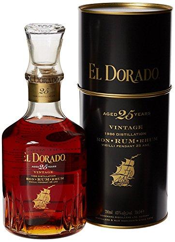 El Dorado 25 Ans Guyane Rhum 1986 700 ml