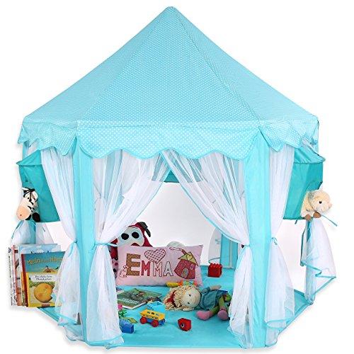 KIDUKU® Tienda de juego para niños castillo para jugar castillo de princesa...