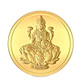 BlueStone BIS hallmarked 2 gm, 24k Yellow Gold Lakshmi Precious Coin