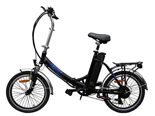 20 Zoll SWEMO Alu Klapp E-Bike / Pedelec SW200 Neu (Schwarz)