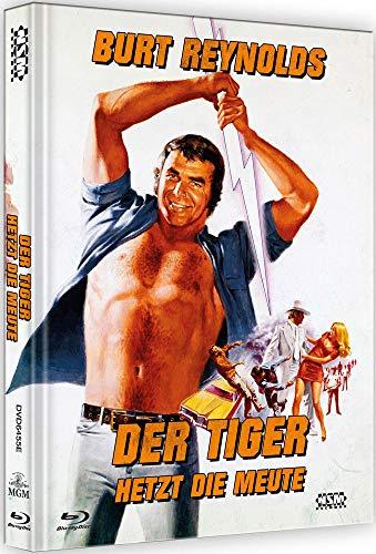 Der Tiger hetzt die Meute - White Lightning [Blu-Ray+DVD] - uncut - auf 111 Stück limitiertes Mediabook Cover E