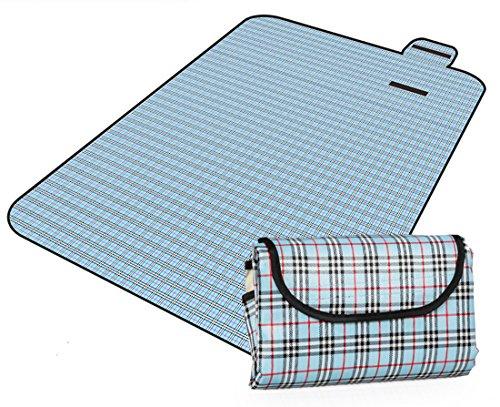 Honeystore 200*150 Oxford Yoga Matte Strand Ausflug Picknickdecke mit wasserabweisender Unterseite A07