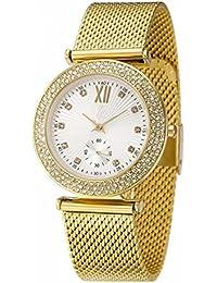 Señoras Del Diamante De La Manera Ocasional Reloj De Diamantes Shi Ying Reloj Digital Del Acero Inoxidable Resistente Al Agua Marca De Diamantes De