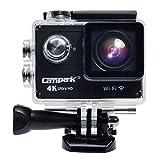 Campark® ACT73 Ultradünne 4k Wifi Wasserdichte Sport Action Kamera