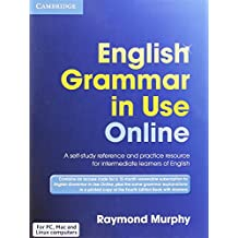 English Grammar in Use Online Access Code and Book with Answers Pack 4th Edition