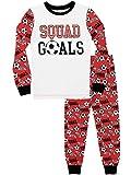 Harry Bear Jungen Fußball Schlafanzug Slim Fit Rot 128