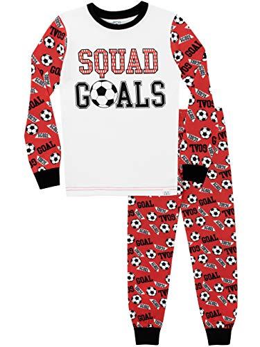 Harry Bear Pijamas Manga Larga niños Fútbol Ajuste