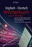 Englisch-Deutsch Wörterbuch: Quick and Easy