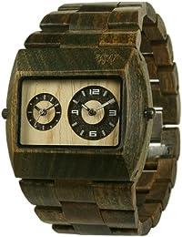 WeWood Jupiter Armbanduhr aus Holz -Army