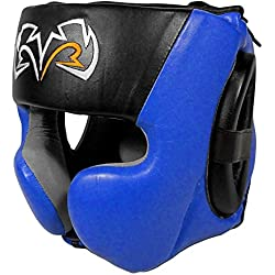 RIVAL RHG30 TRAINING BOXING HEADGUARD - BLACK/BLUE