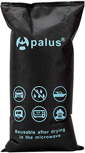 Apalus Luftentfeuchter Auto Wiederverwendbar | Entfeuchter Kissen Für Beschlagene Autoscheiben | Perfekt Für Auto, Wohnmobile, Garage, Wohnung, Bad, Schrank, Kleiderschränke (1kg) + Antirutschmatte