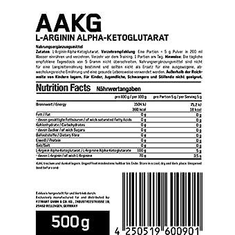 Esn Aakg L Arginin Alpha Ketoglutarat Raw Series 1er Pack 1 X 05