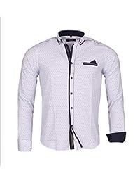 Carisma Hemd Polohemd Herrenhemd CR16 8259 weiss