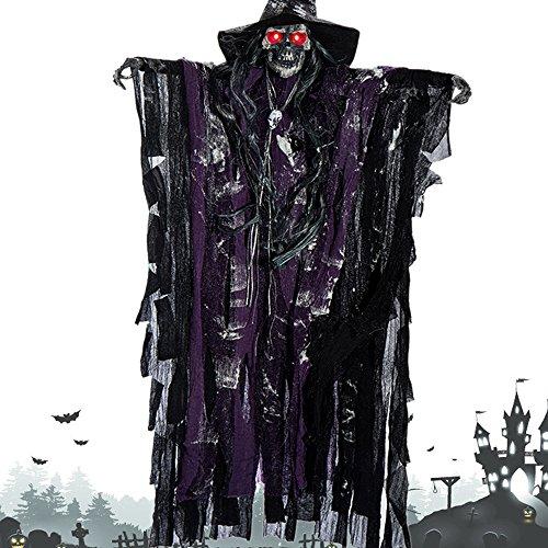 Halloween Dekoration Geister - elfisheu Halloween Deko Gruselig Zombie Geist