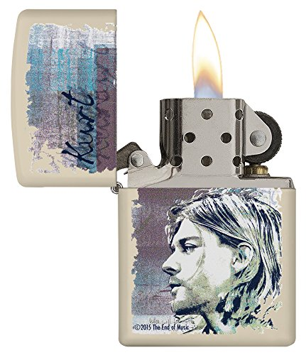 Zippo 60.002.308 Feuerzeug Kurt Cobain Collection Spring 2016, creme matte - 3