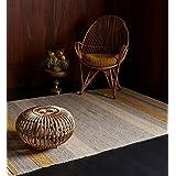 Moderna alfombra Diseñador ISAR Alfombra 160x230cm Mostaza Mostaza 50% lana 35% algodón 15% viscosa