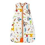 The Gro Company Grobag Sacco nanna da viaggio, imbottitura da 2,5 tog, per bambini da 0 a 6 mesi multicolore Multicoloured 0-6 mesi