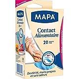Mapa gants contact alimentaire (20 gants) taille L - Prix Unitaire - Livraison Gratuit En France métropolitaine sous 3 Jours Ouverts