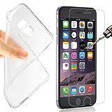 betterfon Huawei Y3 Y360 TPU Silikon Handyhülle Schutz Hülle Schale Tasche Transparent +PANZERGLAS FOLIE Echt Glas 9H Displayschutzglas