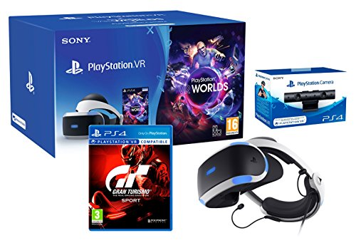 "PlayStation VR2 (CUH-ZVR2) ""GT Sport Pack"" Gran Turismo Sport + VR Worlds + Camara"