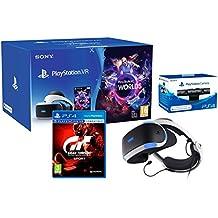 "PlayStation VR2 (CUH-ZVR2) ""GT Sport Pack"" Gran Turismo Sport + VR Worlds + Camara"