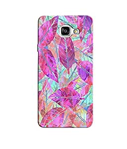 Citydreamz Colorful Leaves Hard Polycarbonate Designer Back Case Cover For Samsung Galaxy A7 2016 Edition/Samsung Galaxy A710