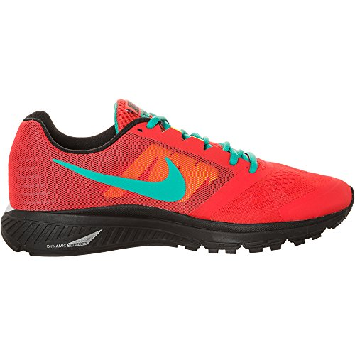 Nike Zoom Structure + 17 Mens addestratori correnti 615.587 600 Scarpe Sneakers Nike plus - light crimson black team red polarised blue