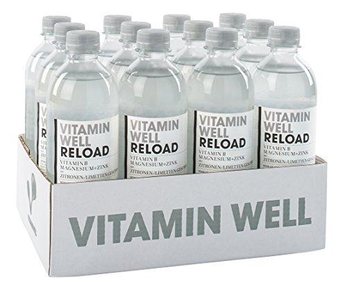 Vitamin Well Vitamindrink Reload, 12 x 0.5 l