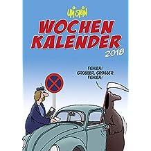 Uli Stein Wochenkalender 2018