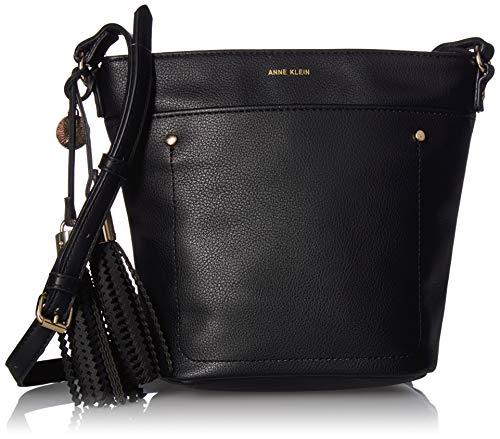 Anne Klein Damen Bucket Bag, schwarz, Einheitsgröße