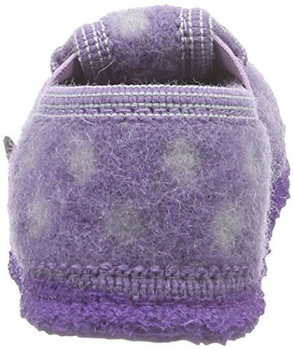 Giesswein Tunau, Chaussons Doublé Chaud fille Violet - Violett (lila / 539)