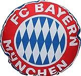 FC Bayern München Kissen Rekordmeister rund 45cm