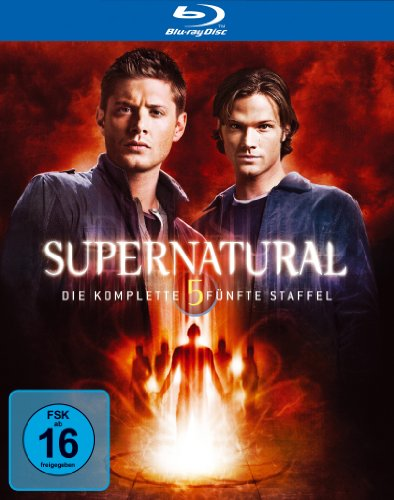 Supernatural – Die komplette fünfte Staffel (4 Blu-rays + Bonus-DVD) [Blu-ray]