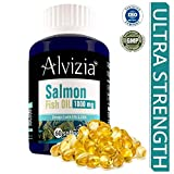Alvizia's Salmon Fish Oil 1000 mg Omega 3 EPA 330 DHA 220