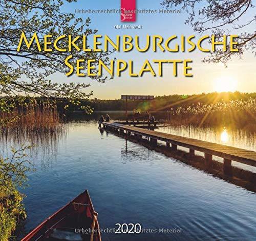 Mecklenburgische Seenplatte: Original Stürtz-Kalender 2020 - Mittelformat-Kalender 33 x 31 cm