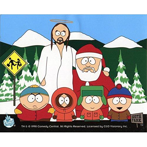 South Park–Weihnachten Crew Aufkleber (Cap Womens Crew)