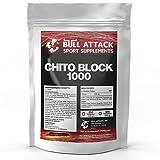 CHITO-BLOCK-1000 | 250 Tabletten reines Chitosan | Vorratspackung | Fett-Blocker / Fettblocker für Männer & Frauen | Premium Qualität made in Germany