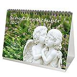 Schutzengelzauber · DIN A5 · Premium Tischkalender/Kalender 2019 · Schutzengel · Engel · Glaube · Religion · Schutz · Madonna · Kirche · Edition Seelenzauber