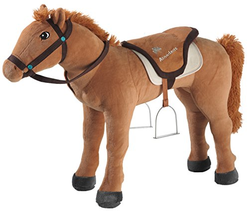 Bibi & Tina 736375 - Pferd stehend, Amadeus, groß, braun