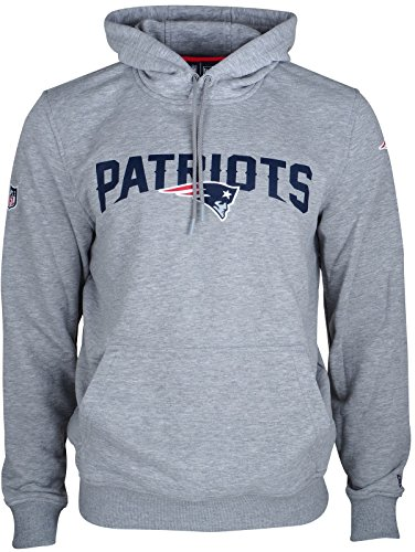 New Era Herren Oberteile / Hoody Team App New England Patriots Gray