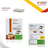 VMS Deluxe Thermal Lamination Pouch 85X110 175 Mic Set Of 2 (200 Sheet)