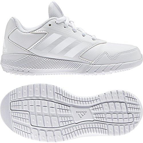 Chaussures junior adidas AltaRun blanc/bleu/gris